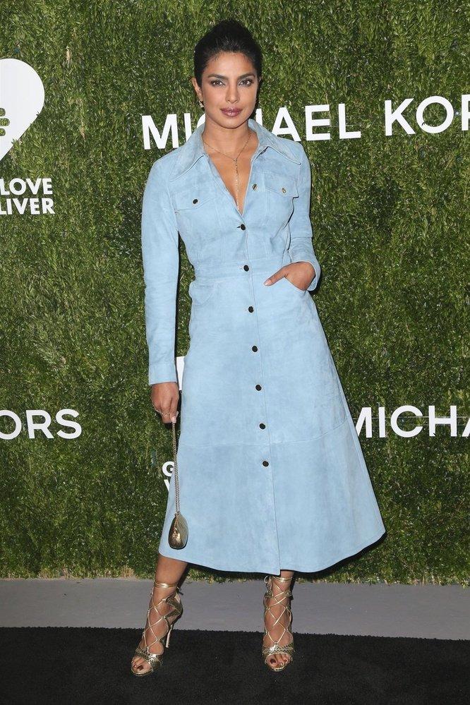 Priyanka Chopra  na akci Golden Heart Awards in New Yorku