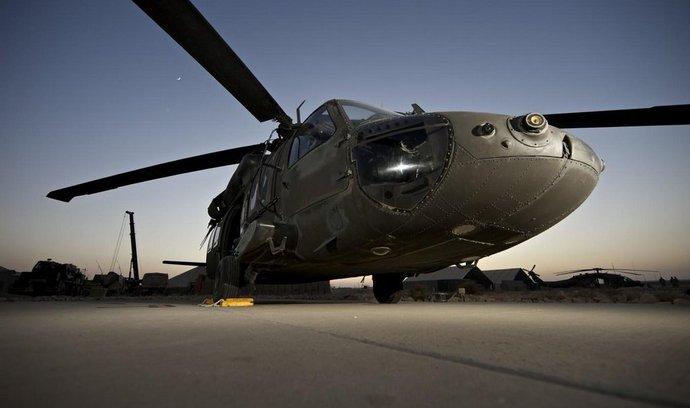 Legendární vrtulník UH-60 Black Hawk.