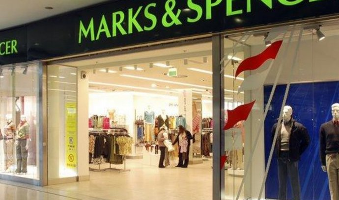 Prodejna Marks & Spencer