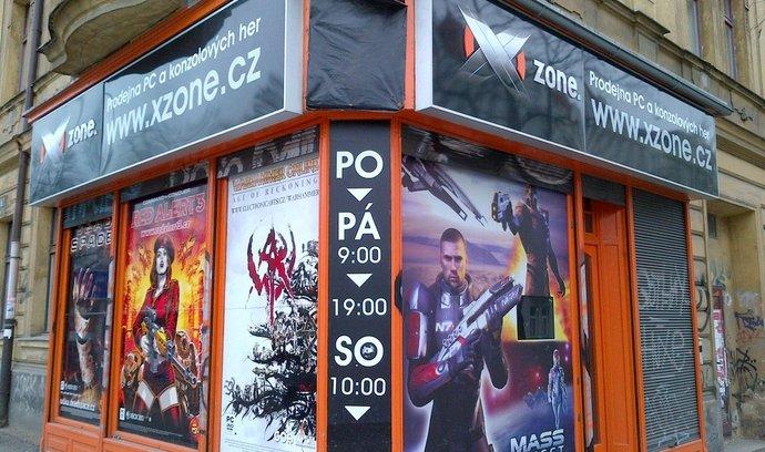 Prodejne Xzone na pražských Vinohradech.