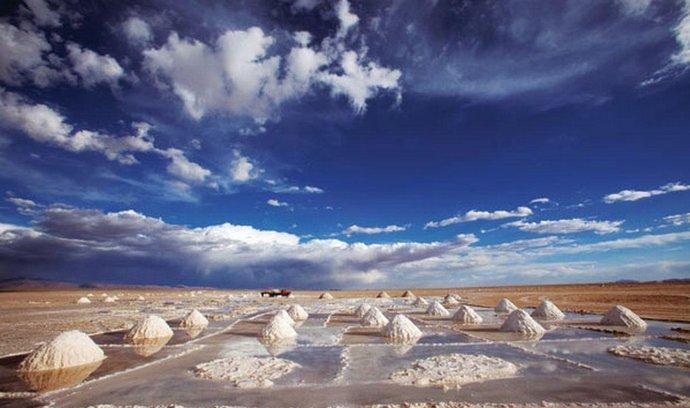 Produkce lithia v Bolívii