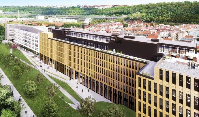 Projekt River Garden II./III v pražském Karlíně