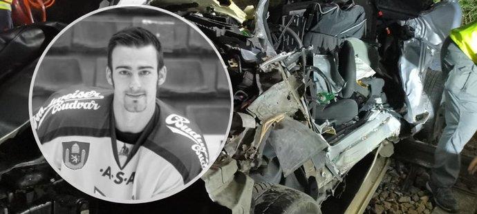 Hokejista se rozhodl ukončit svůj život a vjel pod vlak.