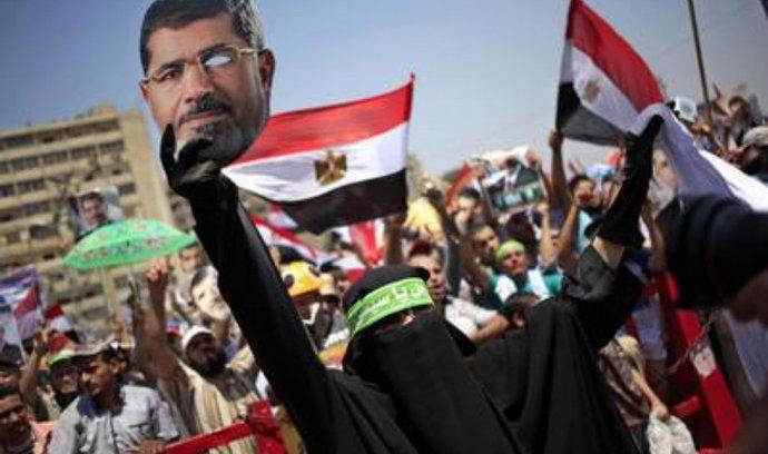 Protesty Musího příznivců v Egyptě
