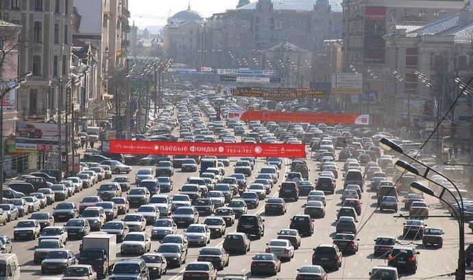 Provoz v Moskvě