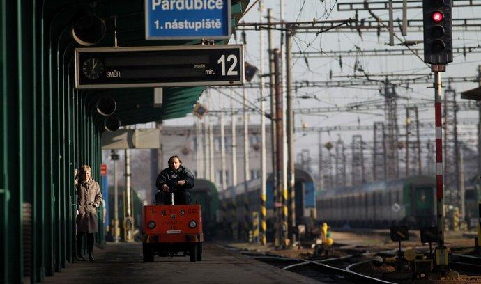 Odbory na železnici vyhrožují stávkou. Ilustrační foto