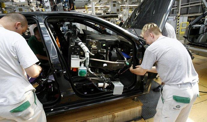 Průmysl, auta