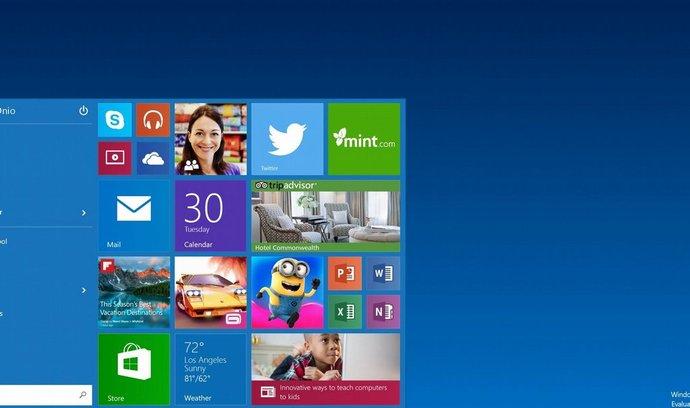 První oficiální ukázky Windows 10