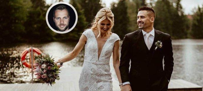 O nezapomenutelné snímky ze svatby Lucie Šafářové s Tomášem Plekancem se postaral fotograf Patrik Pšeja