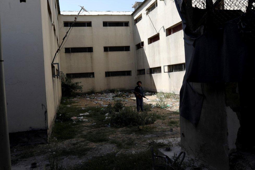 Život pod Tálibánem. V kriminále Pul-e-Čarchí.