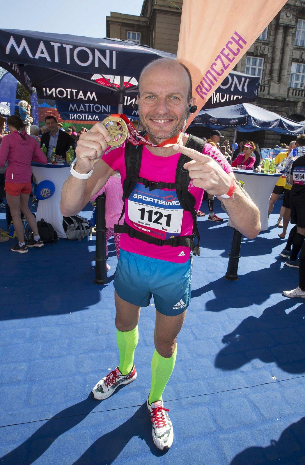 Dalibor Gondík je nadšený běžec.