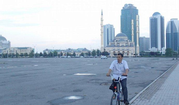 Pusto v Groznyj City.