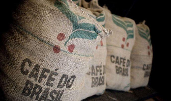 Pytle s brazilskou kávou