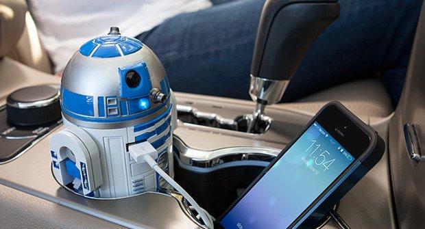 R2-D2 ze Star Wars do vašeho auta