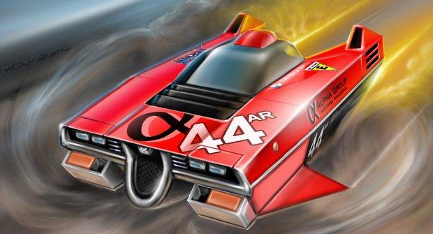 Astro Racers: 44 – Alpha Plus