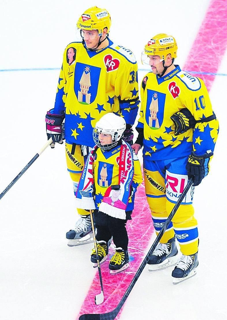Trio Rachůnků – Tomáš, Matěj a Ivan.