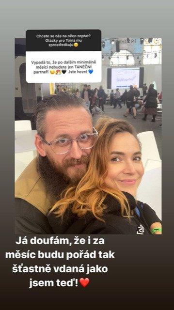 Radka Třeštíková je spokojená s manželem Tomášem Třeštíkem