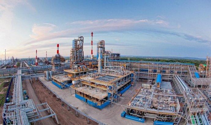 Rafinerie Gazpromu v Salavatu