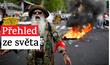 První den po zavedení bitcoinu jako oficiálního platidla zavládly v Salvadoru násilné protesty.
