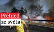 Rozsáhlé požáry v Turecku.
