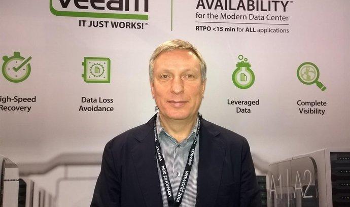 Ratmir Timashev, výkonný ředitel a spoluzakladatel Veeam.