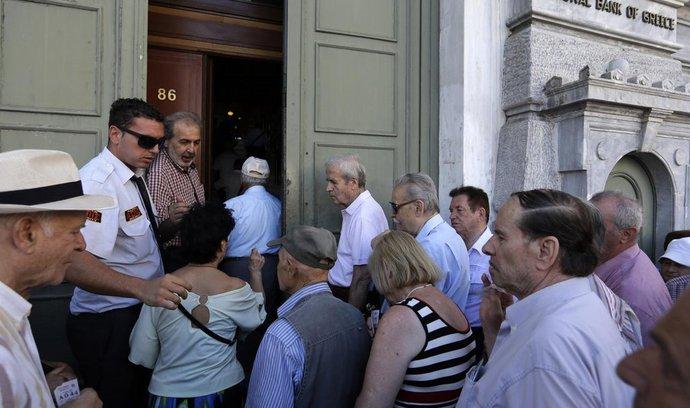 Řecko, banky,