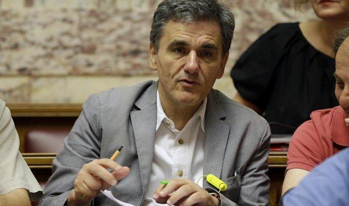 řecký ministr financí Euclid Tsakalotos