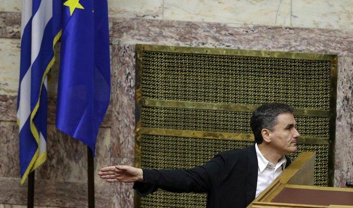 Řecký ministr financí  Euklid Tsakalotos