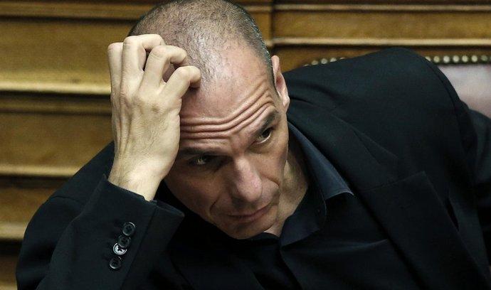 řecký ministr financí Janis Varufakis