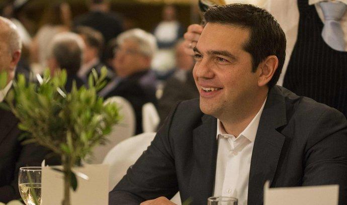 Řecký premiér Alexis Tsipras (15. května 2015)