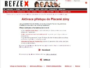 Reflex - aktivace