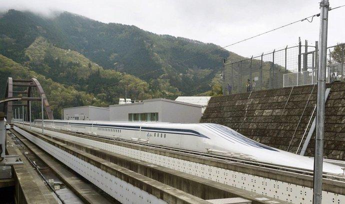 Rekordní japonský rychlovlak