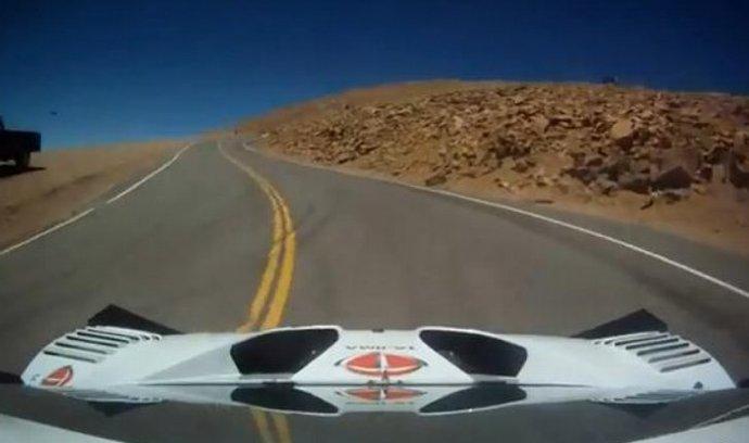 Rekordní jízda na vrchol Pikes Peak