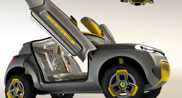 Proleťte se konceptem Renault Kwid!