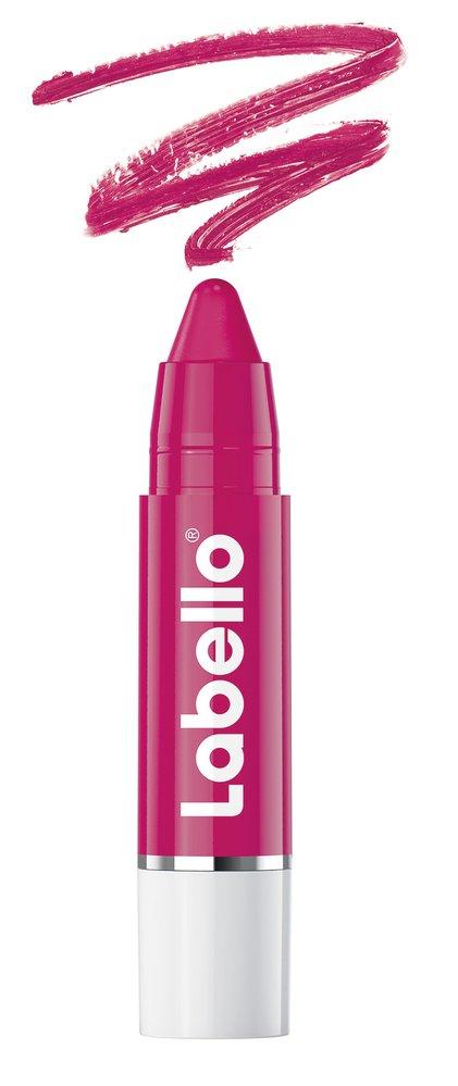 1 Balzám na rty v tužce, odstín Hot pink, Labello, 145Kč