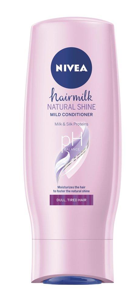 5 Pečující kondicionér, Hairmilk Natural Shine, Nivea, 80Kč