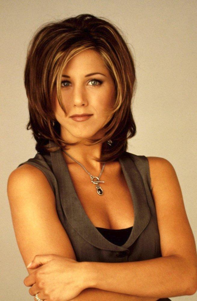 1995 - účes ála Rachel z Přátel
