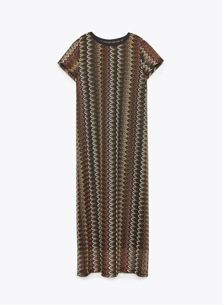 Šaty, Uterque, 3650 Kč, www.uterque.com