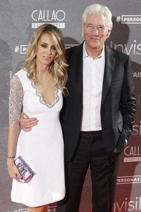 Richard Gere (66) a Alejandra Silva na premiéře Gerova filmu The Time Out of Mind. Jsou zamilovaní až po uši, co na tom, že je od sebe děli 34 let!