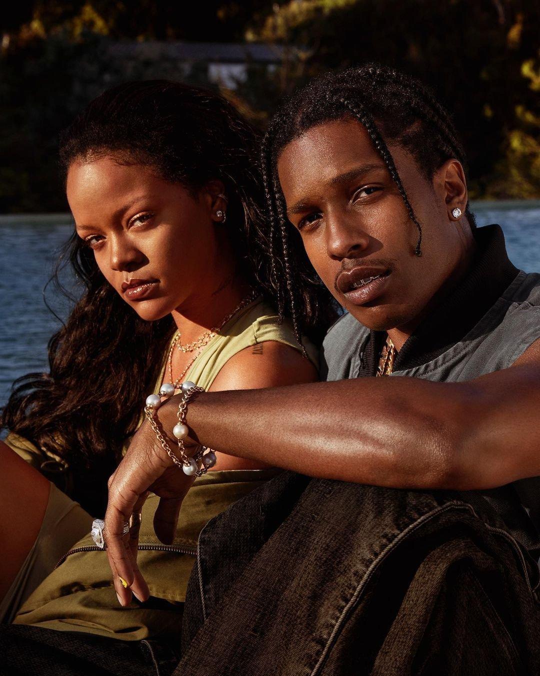Rihanna prý randí s rapperem A$AP Rockym.