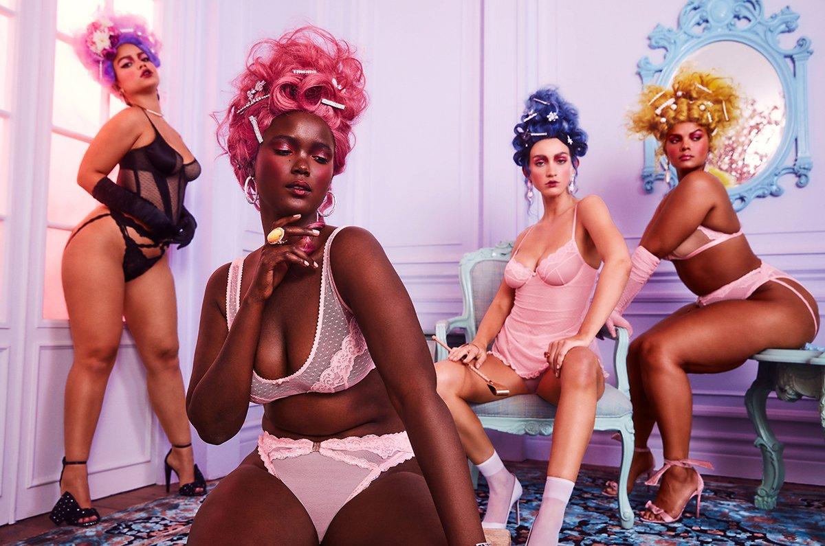 Vychrtlé modelky? Kdeže, Rihanna navrhuje pro ženy »krev a mlíko«.