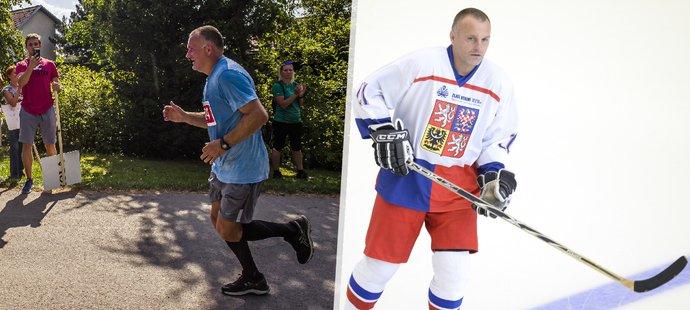 Hokejová legenda Robert Reichel i po padesátce rád běhá dlouhé vzdálenosti.