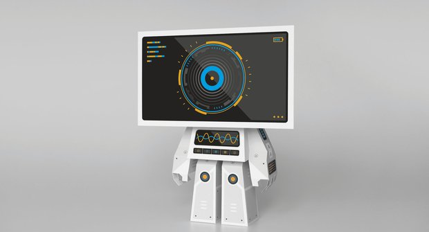 Roboti: LCDBOT