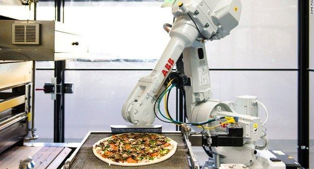 Zume Pizza pro 21. století: Objednávka přes apku
