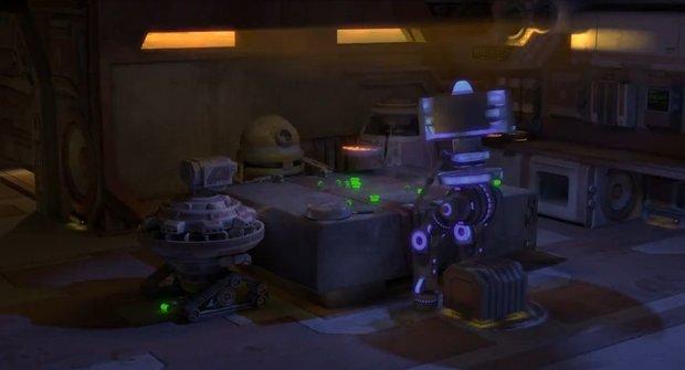 Jak to vypadá, když se roboti hádají? Řvou na sebe v rytmu dubstepu