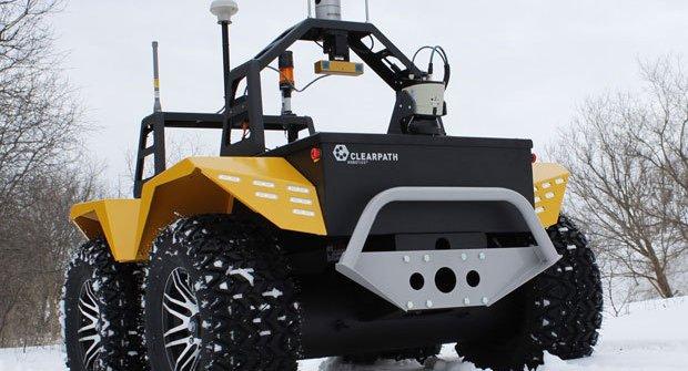 Robot Grizzly: Traktor bez traktoristy