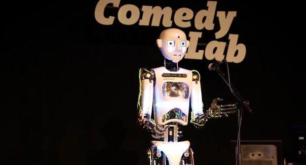 Robot nebo komik? Záleží na programování!