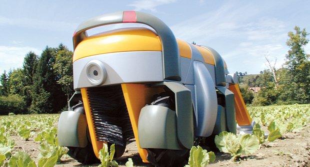 """Roboti farmář: Čeká nás """"polní"""" revoluce?"""