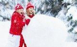 Zabavte děti na horách: 6 her do zasněžených svahů