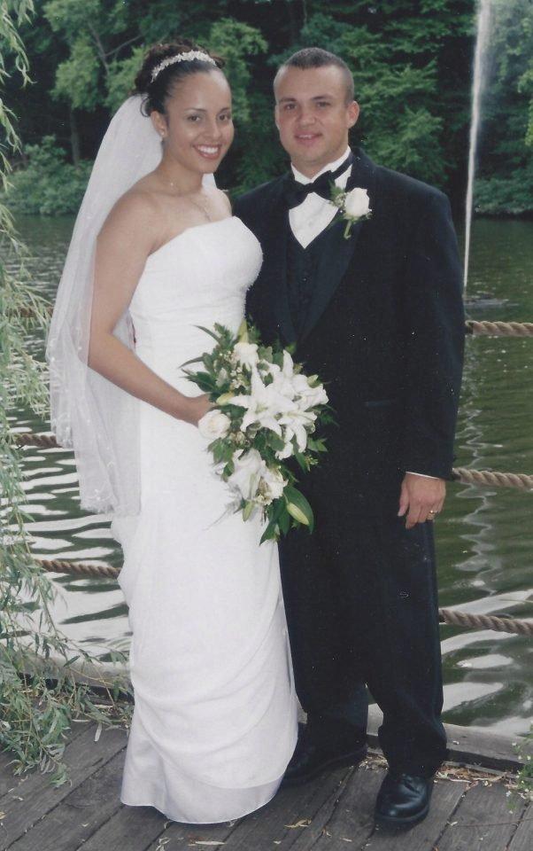 Benno si bral Cristinu v roce 2005.